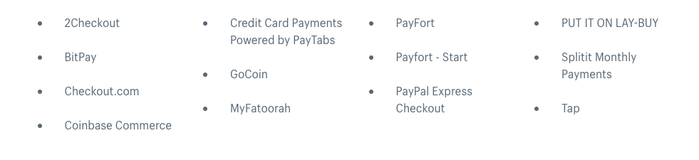 shopify-payment-providers