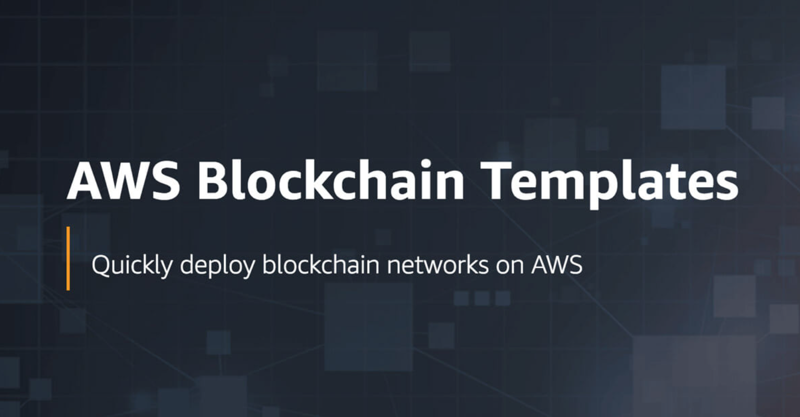 Amazon-blockchain-templates